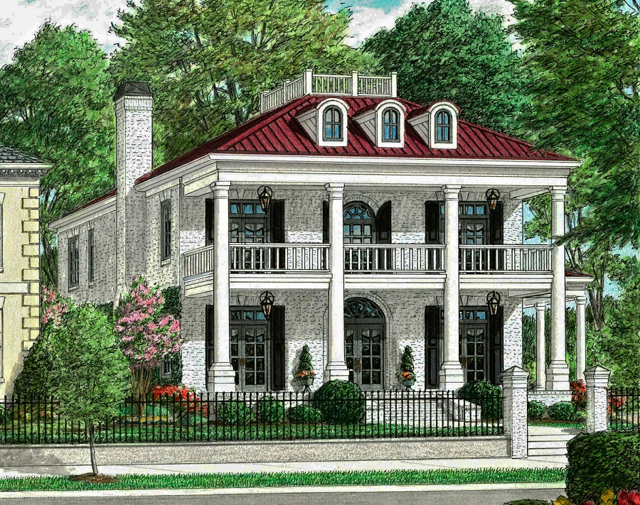 Federal Home Designs House Design Plans