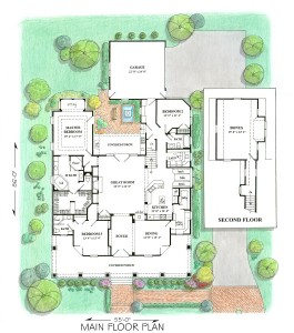 Brewton Hall - Floor Plans