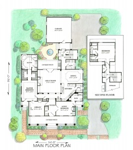 Marion Hall - Floor Plans