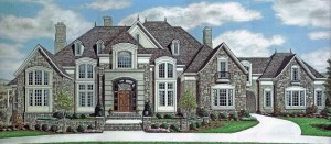STONE CREST MANOR RENDERING