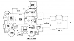 HITHERWOOD MAIN FLOOR PLAN