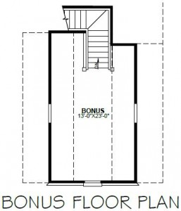 ABINGDON BONUS FLOOR PLAN